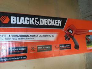 Desmalezadora Bordeadora Black&decker 30 Cm 12 Pulgadas