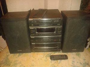 Equipo De Sonido 3 En 1 Panasonic Sa Ch53 3cd