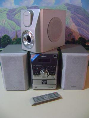 Equipo De Sonido Marca Sharp 120 Watts.