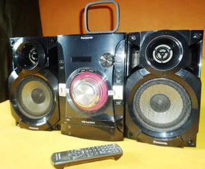 Equipo De Sonido Panasonic Mp3 Usb Cd Radio 600wt