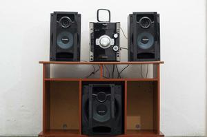 Equipo De Sonido Pansonic Con Mueble