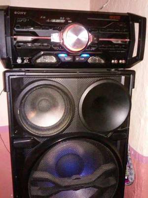 Equipo De Sonido Sony Genezi. Sh