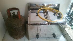 Freidora A Gas Con Bombona De 10kg Y Regulador