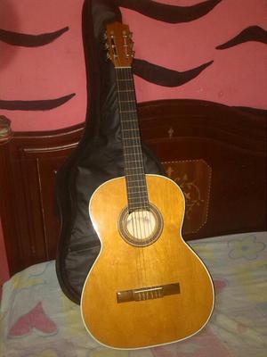 Guitarra Acustica con Forro Nueva