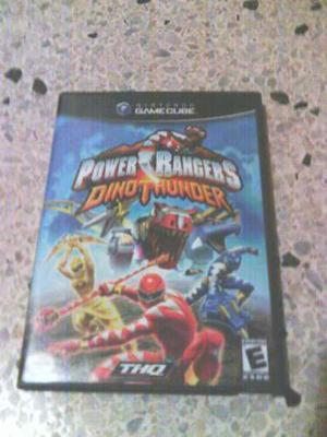 Juego De Gamecube Power Rangers: Dino Thunder