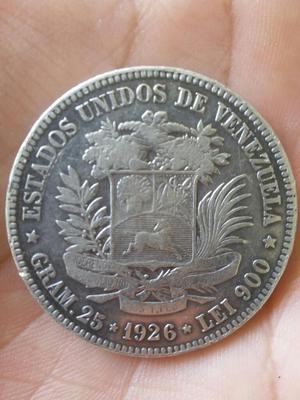 Moneda Venezolana Gram 25 de Plata Pura