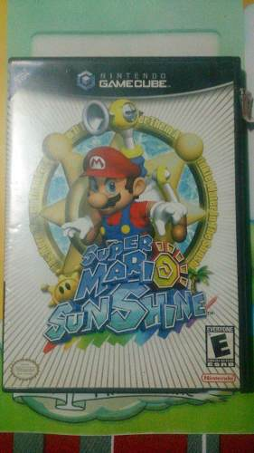Nintendo Game Cube + Super Mario Sunshine Y Memory Card 32mb