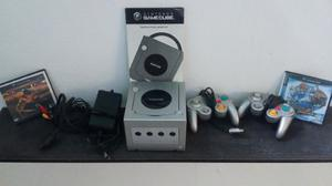 Nintendo Gamecube + 2 Controles + 2 Juegos. 100% Funcional.