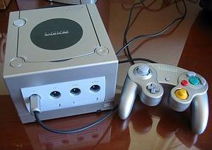 Nintendo Gamecube Plata.