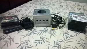 Nintendo Gamecube Plateado Chipeado