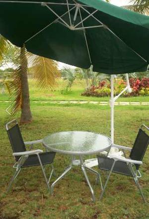 Paragua Toldo Sombrilla De Pedestal Para Jardín Piscina