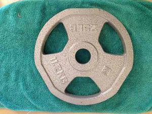 Pesa Disco Para Barra Olímpica De 25 Libras O 11,2kg