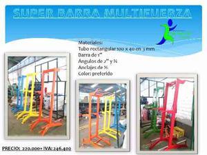 Super Barra Multifuerza