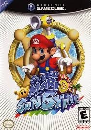 Super Mario Sunshine Juego Gamecube