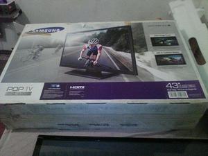 Tv Samsung 43 pulgadas plasma NUEVO!!!!