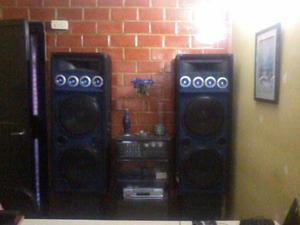 Vendo Equipo De Sonido Planta Amplificador Karaoke Cornetas