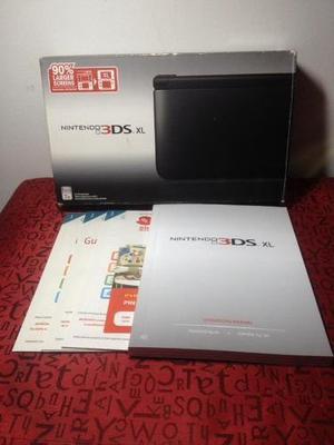 Caja Original Nintendo 3ds Xl Con Manuales
