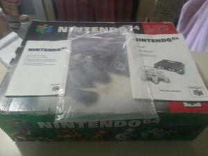 Caja Y Manuales Nintendo 64 Negociable