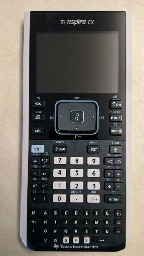 Calculadora Texas Ti-nspire Cx Como Nueva