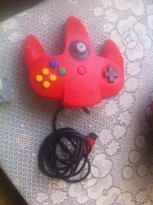 Control Nintendo 64 + Memory Pack + Cable A/v