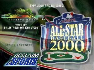 Juego De Nintendo 64 All Star Baseball