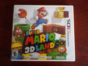 Juego Super Mario Land Para Nintendo 3ds Como Nuevo