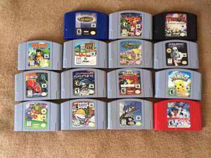 Lote Juegos Nintendo 64