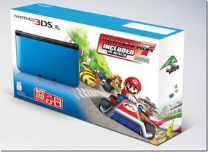 Nintendo 3ds Xl Con Juego Mario Kart 8 Totalmente Nuevo