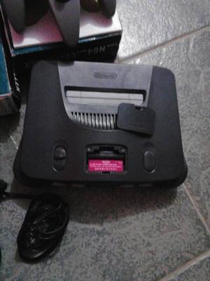 Nintendo 64 + 4 Juegos + 2 Controles
