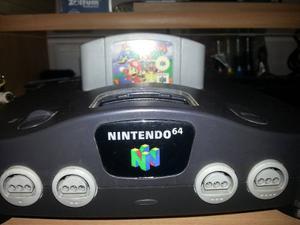 Nintendo 64 Con Juego Mario Kart Mortal Kombat Diddy Kong