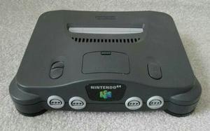 Nintendo 64 Usado Con Un Control Y 2 Juegos