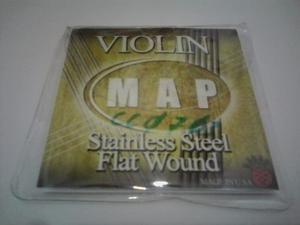 Set De Cuerdas Para Violin Marca Map