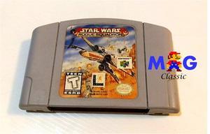 Star Wars Rogue Squadron Para Nintendo 64 Con Garantia