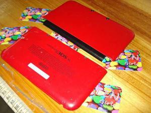 Tapas Carcasa Roja Nintendo 3ds Xl Usado - Otros Repuestos