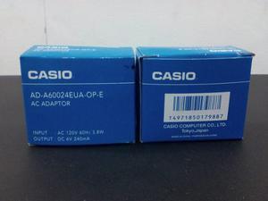 Transformador Adaptador De Corriente 120v A 6v Casio Ad-a600
