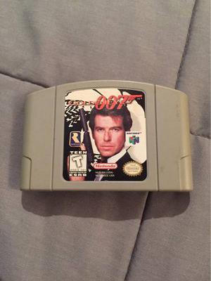 Vendo O Cambio Golden Eye 007 Para Nintendo 64 Impecable