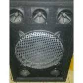 cajones con cornetas y Twistter, ideal para sonido casero