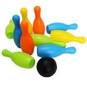 Bowling Plástico Para Niños, Juguete, Cotillón, Fiestas
