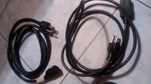 Cables De Corriente Para Pc,monitor Etc