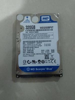 Disco Duro 320gb Para Laptop