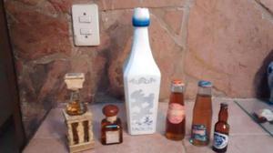 Juego De Botellas Antiguas