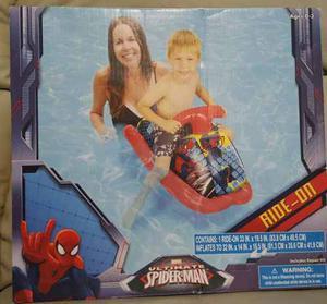 Moto Inflable Para Niños De Spiderman