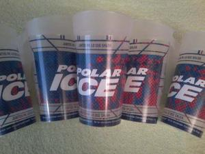 Vasos Plasticos Cerveceros Polar Ice