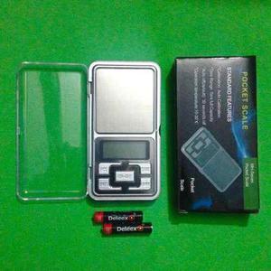 Balanza Peso Digital Gramera Hasta 200 Gr Incluye Baterias