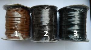 Cuero Cordon Piel De Serpiente #2 (2mm) Rollo De 100 Yardas