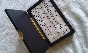 Domino Piedras Blancas Con Estuche