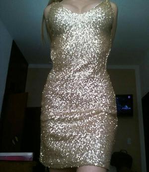 Hermosos Vestidos Dorados