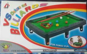 Juguete Mesa De Pool Para Niños Billiards Set