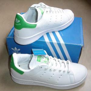 Kp3 Zapatos Adidas Stan Smith Para Caballeros 40 Al 45