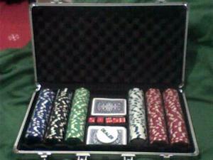 Maletin De 300 Fichas De Poker Profecional